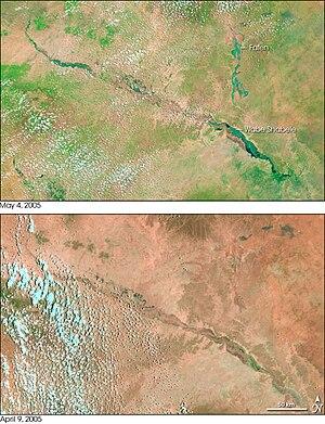 Shebelle River - Image: Shabeelle NASA