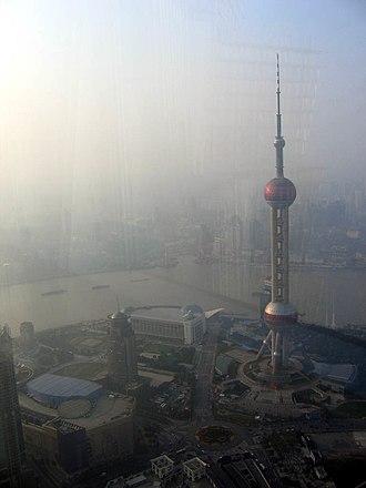 Oriental Pearl Tower - Image: Shanghai JE3