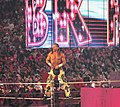Shawn Michaels' Wrestlemania XXVI entrance.jpg