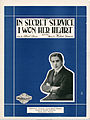 Sheet music cover - IN SECRET SERVICE I WON HER HEART - SONG (1919).jpg