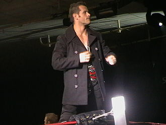 Alex Shelley - Shelley at a TNA house show in January 2009