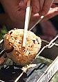 Shiitake yaki-onigiri by toshihiko2001.jpg