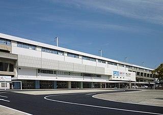 Shin-Yamaguchi Station Railway station in Yamaguchi, Yamaguchi Prefecture, Japan