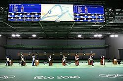 Shooting at the 2016 Olympics – Women's 10 metre air rifle (cropped).jpg