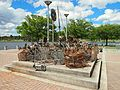 Shopping trolleys taken from Lake Tuggeranong Nov 2012.jpg