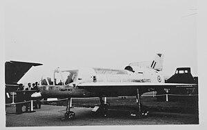 Short SC.1 - The first Short SC.1, XG900, at the 1958 SBAC show at Farnborough