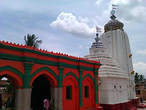 Mayurbhanj State - Shri Hari Baladev Jiu Temple in Baripada, built under royal patronage.