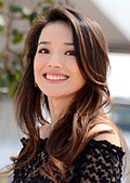 Photo of Shu Qi at the 2015 Cannes Film Festival.