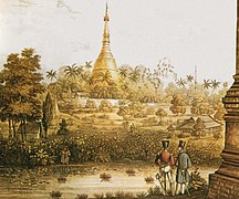 Burma-Taungoo and colonialism-Shwedagon pagoda