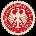 Siegelmarke Deutsche Gesandtschaft in Luxemburg W0219332.jpg