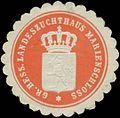 Siegelmarke Gr. Hess. Landeszuchthaus Marienschloss W0334329.jpg
