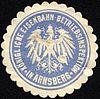Siegelmarke Königliche Eisenbahn - Betriebsinspektion in Arnsberg W0229438.jpg