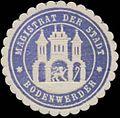 Siegelmarke Magistrat der Stadt Bodenwerder W0328025.jpg