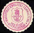 Siegelmarke Magistrat und Polizei - Verwaltung der Stadt Wittichenau W0229152.jpg