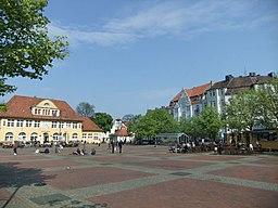 Siegfriedplatz in Bielefeld