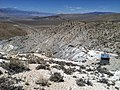 Sierra Mine, Fish Lake Valley (NV) in the mid-distance and the east slope of California's White Mountains on the left, Esmeralda Co., NV - panoramio.jpg