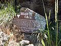 Sign at the Mouth of the Cave - panoramio.jpg
