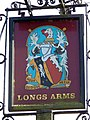 Sign for the Long Arms - geograph.org.uk - 1417590.jpg