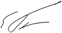 Signature of Yegor Gaidar.png