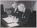 Signing of inter-university agreement between NIHE Limerick and Cornell University (9524491020).jpg