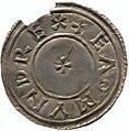 Silver penny of Edmund I (YORYM 2000 1493) obverse.jpg