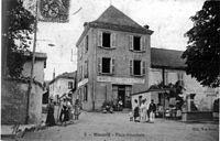 Sinard, place principale, 1906, p245 de L'Isère les 533 communes - Edit Vve Borel.jpg