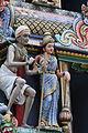 Singapore. Sri Mariamman. Gopuram. South East-12.JPG
