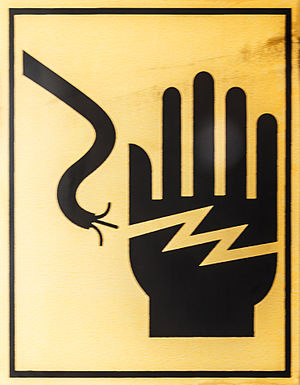 Electrical safety standards - Image: Singapore Danger Signs 02