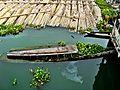 Sinking boat in Kaptai River.jpg