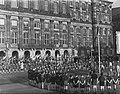 Sint Jorisdag . Padvinders Dam Amsterdam, Bestanddeelnr 905-6793.jpg