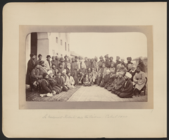 Sir Frederick Roberts and the Sirdars of Kabul, 1879 WDL11463.png