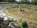 Siracusa, neapolis, anfiteatro romano 02.JPG