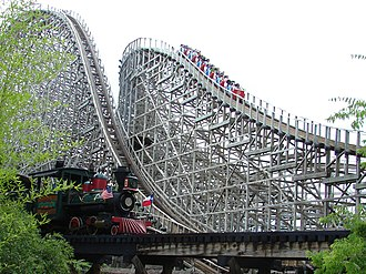 New Texas Giant - Image: Six Flags Texas Giant 3988 cropped