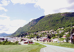 View of Sjøholt