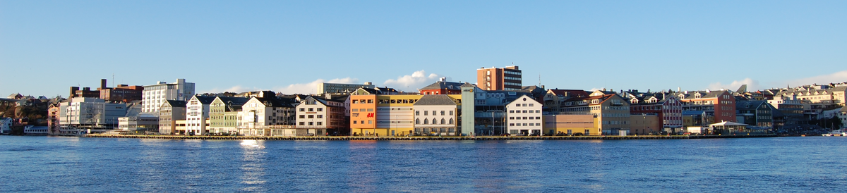 Kristiansunds skyline
