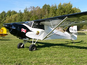 Denney Kitfox - A Skystar Kitfox Model 4 registered as a Canadian Advanced Ultra-light Aeroplane.