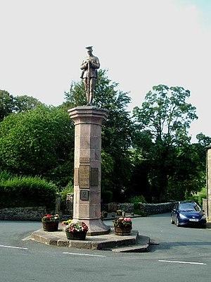Slaidburn - Image: Slaidburn War Memorial geograph.org.uk 371128