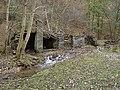 Slate dressing shelters - geograph.org.uk - 60699.jpg