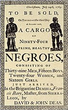 Slave Auction Ad