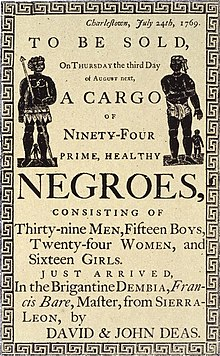 Slave Auction Ad., From WikimediaPhotos