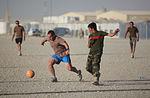 Soccer unites Coalition forces, Afghan soldiers DVIDS334095.jpg