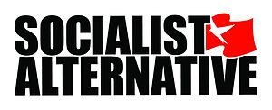 Socialist Alternative (United States) - Image: Socialist Alternative (US) Logo