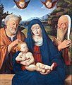 Solario - Madonna and Child with St. Joseph and St. Simeon, 1495.jpg
