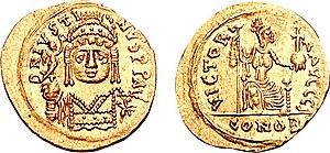 Justin II - Solidus of Justin II