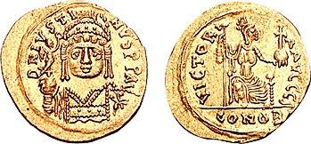 Solidus Justins II.