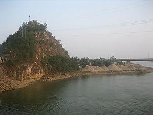 Ma River - Mã River in Thanh Hóa city, Vietnam