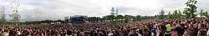 Sonisphere Festival - Linkin Park performing at Sonisphere Festival in Kirjurinluoto, Pori, Finland.