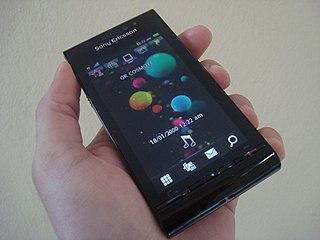 Sony Ericsson Satio smartphone model