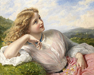 Sophie Gengembre Anderson - The song of the lark