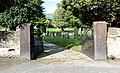 South gates to St Andrew's Churchyard, Bebington.jpg